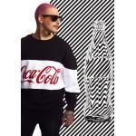 Pánské Oblečení Mister Tee v černé barvě ve velikosti Oversize s kulatým výstřihem s motivem Coca Cola