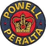 Nášivka Powell Peralta Supreme Patch 6 X 6 Cm