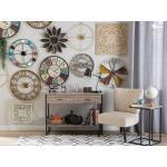 Nástěnná dekorace světlé dřevo / bílá YONORA