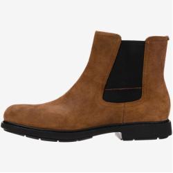 Pánské Kotníkové boty Camper ve světle hnědé barvě ve velikosti 45