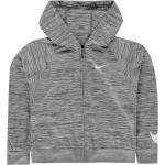 Nike Nike 360 Full Zip mikina s kapucí dětské dívčí, Smoke Grey - 2-3 roky (98) / Smoke Grey SD31221802
