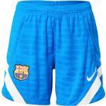 NIKE Sportovní kalhoty 'FC Barcelona' modrá / bílá