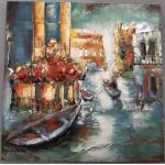 Obraz rozkvetlých Benátek