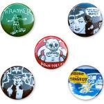 Odznaky Thrasher Usual Suspect Buttons (5 Pack)