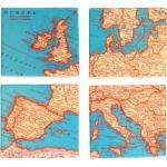 Podtácky s motivem Evropy 4ks