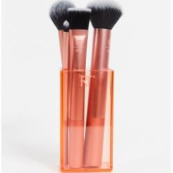 Real Techniques Flawless Base Brush Set (worth £37)-No Colour