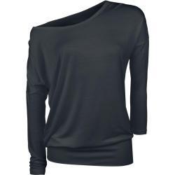Dámské Oblečení RED by EMP v černé barvě ve velikosti 5 XL s dlouhým rukávem s lodičkovým výstřihem