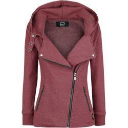 RED by EMP - Let It Rock - Mikina s kapucí na zip - směs červené