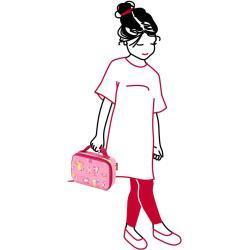 Reisenthel Thermocase Kids Abc friends pink