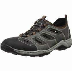 RIEKER Sandály černá