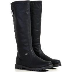 Dámské Kozačky Rieker v černé barvě na zimu