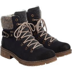 Dámské Zimní boty Rieker v modré barvě na zimu