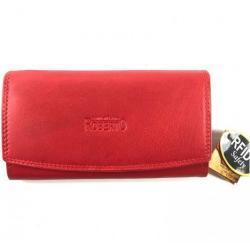 Roberto Dámská celokožená peněženka - červená Barva: Červená