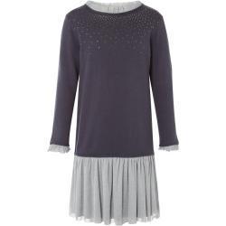 Dětské svetry Dívčí v šedé barvě