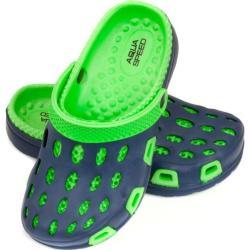 Slippers Aqua-speed Silvi JR kol 48 green-navy blue 35