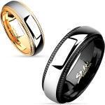 Snubní prsteny z chirurgické ocel R-M4638