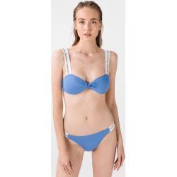 Dámské Plavky Calvin Klein v modré barvě ve velikosti M