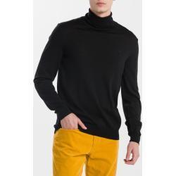 Pánská  Saka Gant v černé barvě v elegantním stylu s vysokým krkem