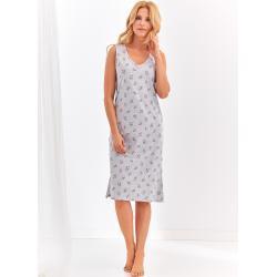 Taro Krátká dámská noční košile 2367 ŁUCJA M-XL květy M