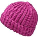 Unisex zimní růžová čepice Fiebig