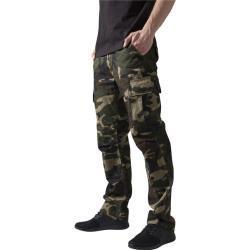 Pánské Kalhoty Urban Classics Camouflage ve slevě