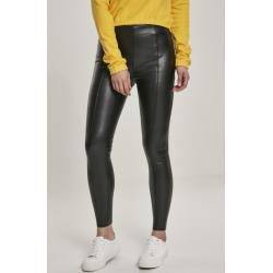 Urban classics Ladies Faux Leather Skinny Pants black - S