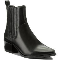 Dámské Kotníkové boty Vagabond v černé barvě s výškou podpatku 5 cm - 7 cm