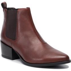 Dámské Kotníkové boty Vagabond v hnědé barvě s výškou podpatku 5 cm - 7 cm