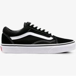Dámské Boty Vans Old Skool v černé barvě v skater stylu ve slevě