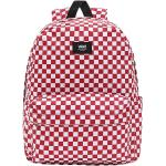 Vans - Old Skool Check Backpack - Batoh - cervená bílá
