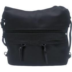 Velká dámská kabelka a batoh 2v1 s kapsami, Tapple, černá