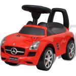 vidaXL Mercedes Benz dětské auto / odrážedlo červené