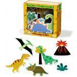 Vilac dřevěné tvarované magnety Dinosauři - 20 ks