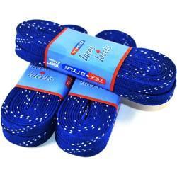 Voskové tkaničky Tex-Style 274 cm, tmavě modrá, 108