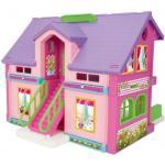 Wader Plastový domeček na hraní pro panenky, Barevný, 35x30x37 cm