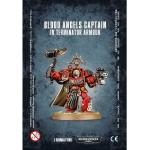 Warhammer 40000: Blood Angels Captain in Terminator Armour