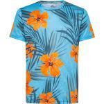 WildTee Funkční triko HAWAI Barva: Modrá, Velikost: XL