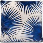 WOUF Luxusní sametový polštář – Blue Palms