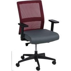 židle kancelářská Press červeno-černá