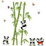 Živá Zeď Samolepka Pandy